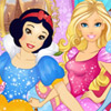 DISNEY PRINCESS BIRTHDAY PARTY DRESS UP
