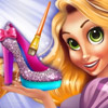 DESIGN RAPUNZELS PRINCESS SHOES