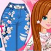 DESIGN YOUR CHERRY BLOSSOM JEAN