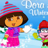 DORA AND BOOTS WINTER DRESS UP