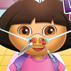 DORA AT NOSE DOCTOR GAME