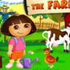 DORA AT THE FARM GAME