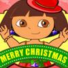DORA CHRISTMAS PRETTY DRESS UP