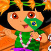 DORA FACE PAINTING GAME