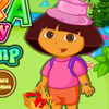 DORA MESSY CAMP GAME