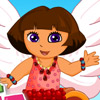 DORA PONY DRESS UP