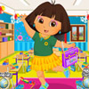 DORA SCHOOL DAY DRESSUP GAME