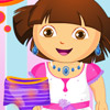 DORA WASHING DRESSES GAME
