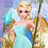 ELSA ANNA FROZEN ANGEL DRESS UP