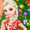 ELSA DECORATE CHRISTMAS TREE
