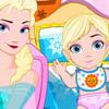 ELSA NURSING BABY TWINS