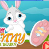 EASTER BUNNY AFTER INJURY