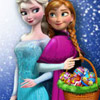 ELSA AND ANNA EGGS PAINTING GAME