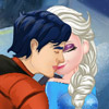 ELSA AND KEN KISSING GAME