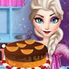 ELSA CHRISTMAS CAKE GAME