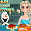 ELSA COOKING HAMBURGER GAME