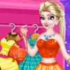 ELSA DESIGNING DRESSES
