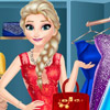 ELSA DRESS UP ROOM