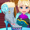 ELSA SHOES DESIGN GAME