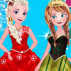 ELSA WITH ANNA DRESS UP GAME