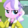 EQUESTRIA GIRLS DIAMOND TIARA DRESS UP