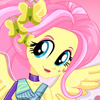 FLUTTERSHY ARCHERY STYLE DRESS UP