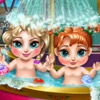 FROZEN BABY BATH