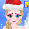 FROZEN ELSA CHRISTMAS MAKEOVER