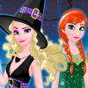 FROZEN TEAM HALLOWEEN DRESS UP