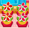 FLORAL CUPCAKES GAME