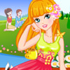 FLOWER PEDICURE DESIGNS GAME