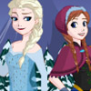 FROZEN DRESS UP GAME