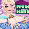 FROZEN ELSA HAND SPA