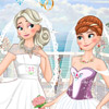 FROZEN SISTERS DOUBLE WEDDING