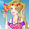 GORGEOUS FLOWER PRINCESS GAME