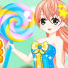 I LOVE BIG LOLLIPOP DRESS UP