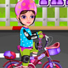 LITTLE GIRL FIRST BIKE GAME