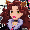 MONSTERHIGH CLAWDEEN WOLF DRESS UP