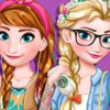 MODERN FROZEN SISTERS DRESS UP