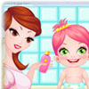 MOMMY AND BABY CARE GAME