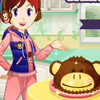 MONKEY CAKE: SARA'S COOKING CLASS