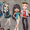 MONSTER HIGH HAUNTED HOUSE GAME