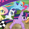MY LITTLE PONY MAGIC RACING