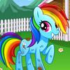 MY RAINBOW PONY DAYCARE GAME