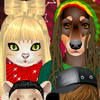 PETS ROCK DRESS UP GAME