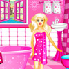 PINK BARBIE BATHROOM