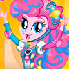 PINKIE PIE ROLLER SKATES STYLE DRESS UP
