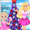 PRINCESS BARBIE BABY AND BARBIE CHRISTMASS FUN