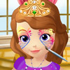 PRINCESS SOFIA FACE ART GAME