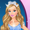PRINCESS WINTER BALL DRESS UP